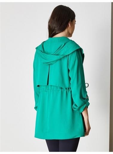 Vekem-Limited Edition Trençkot Yeşil